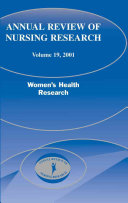 Annual Review Of Nursing Research Volume 19 2001