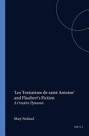 Pdf 'Les Tentations de Saint Antoine' and Flaubert's Fiction Telecharger