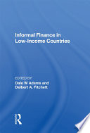 Informal Finance In Low-income Countries