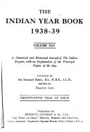 The Indian Year Book Book PDF