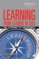 Learning from Leaders in Asia Book