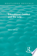 Educational Conflict and the Law  1986