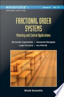 Fractional Order Systems Book