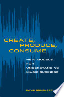 Create  Produce  Consume Book