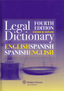 English Spanish and Spanish English Legal Dictionary