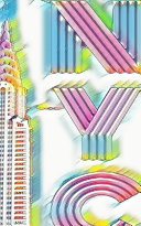 Rainbow ICONIC Chrysler Building Writing Drawing Journal