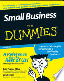 """""""Small Business For Dummies®"""" by Eric Tyson, Jim Schell"""