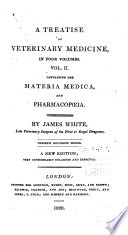 Treatise On Veterinary Medicine