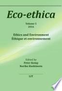 Ethics And Environment Thique Et Environnement