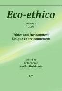 Pdf Ethics and Environment. Éthique et environnement Telecharger