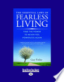The Essential Laws Of Fearless Living Large Print 16pt