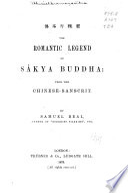 The Romantic Legend of S  kya Buddha