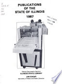 Publications of the State of Illinois 1987