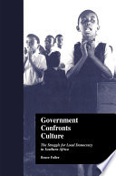 Government Confronts Culture