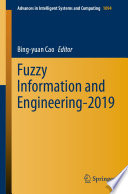 Fuzzy Information and Engineering-2019