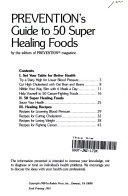 Prevention s guide to 50 Super Healing Foods