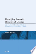 Identifying Essential Elements Of Change