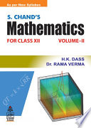 S.Chand's Mathematics -XII (Vol-Ii)