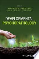 Developmental Psychopathology Book