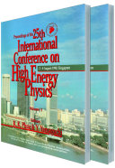 High Energy Physics   Proceedings Of The 25th International Conference  In 2 Volumes