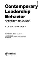 Contemporary Leadership Behavior