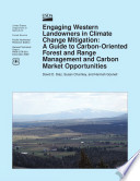Engaging Western Landowners in Climate Change Mitigation