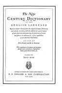 The New Century Dictionary      Book PDF