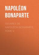 Pdf Œuvres de Napoléon Bonaparte Telecharger