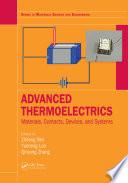 Advanced Thermoelectrics Book