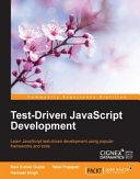 Pdf Test-Driven JavaScript Development Telecharger
