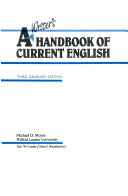 A Writer s Handbook of Current English