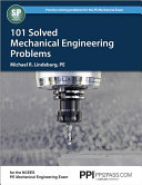 101 Solved Mechanical Engineering Problems Book