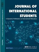 Pdf Journal of International Students, 2019 Vol 9(2)