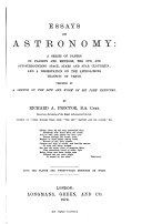 Essays on Astronomy