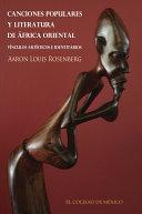 Canciones populares y literatura de África Oriental