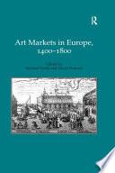 Art Markets In Europe 1400 1800