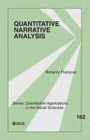 Quantitative Narrative Analysis