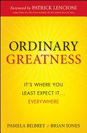 Ordinary Greatness
