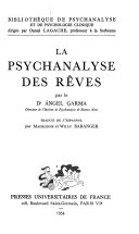 La psychanalyse des rêves