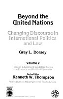 Beyond The United Nations
