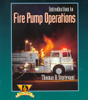 Introduction To Fire Pump Operations Book PDF