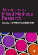 Advances in Mixed Methods Research