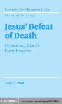 Jesus  Defeat of Death