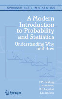 Pdf A Modern Introduction to Probability and Statistics Telecharger