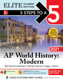 5 Steps to a 5  AP World History  Modern 2021 Elite Student Edition