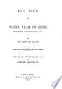 Life of Frederick William Von Steuben  Major General in the Revolutionary Army