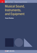Musical Sound  Instruments  and Equipment