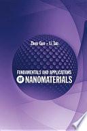 Fundamentals and Applications of Nanomaterials Book