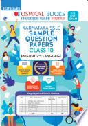 Oswaal Karnataka Sslc Sample Question Papers Class 10 English Iind Language Book For 2021 Exam