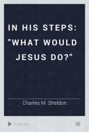 In His Steps Pdf/ePub eBook